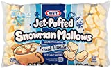 Kraft Jet Puffed Snowman Mallows French Vanilla Marshmallows, 8 oz.
