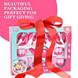 Liberty Imports Deluxe Pink Tea Set for Kids