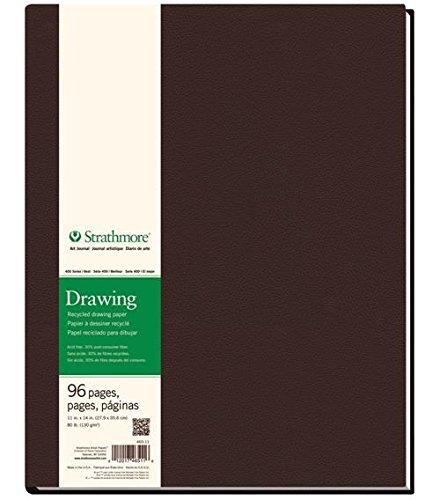 Strathmore 400 Series Recycled Hardbound Drawing Art Pad, 11