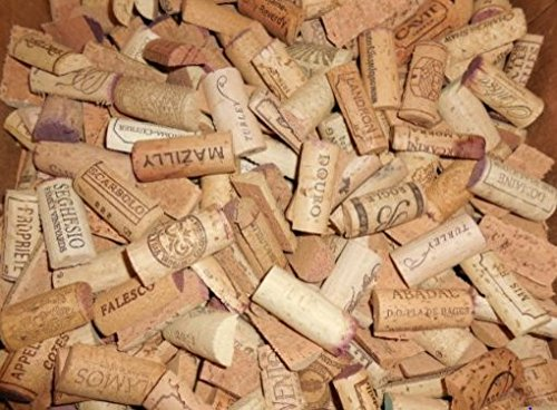 Pre-Cut Recycled Wine Corks, Halves by Sendit Retailers - 100 Count by Sendit