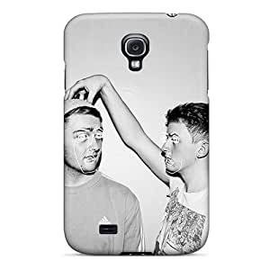 Fashion Tpu Case For Galaxy S4- Electronic Duo Disclosure Defender Case Cover