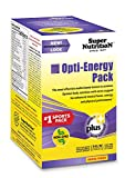 Cheap SuperNutrition Opti-Energy Pack Multivitamin, Iron-Free, 30 Packets of 6 tabs