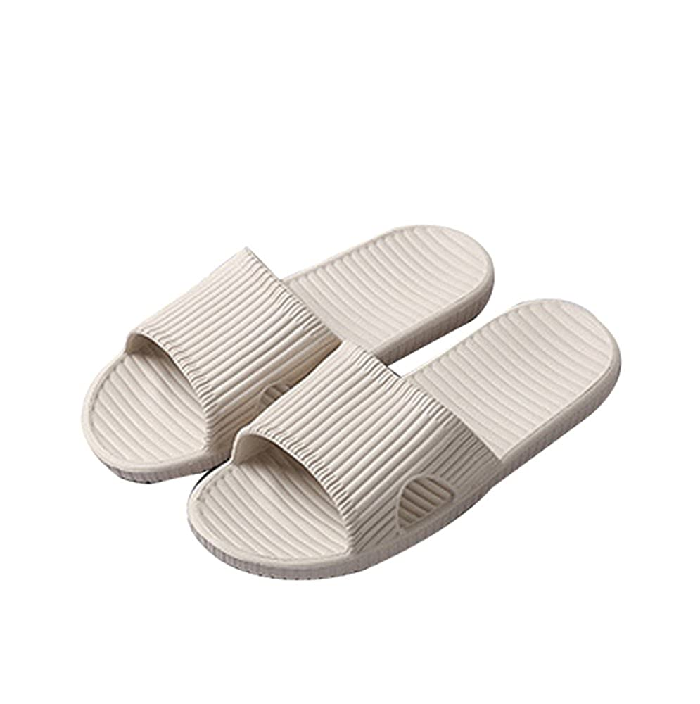 21dfa0a69 Slip On Slippers for Man Women - Bath Pool Water Shoe Shower Non-Slip House  Sandals: Amazon.co.uk: Shoes & Bags