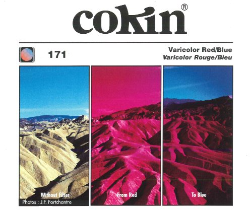 Cokin A171 Filter, A, Varicolor Red Blue