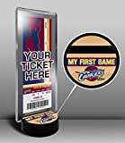 Cleveland Cavaliers My First Game Ticket Display Stand