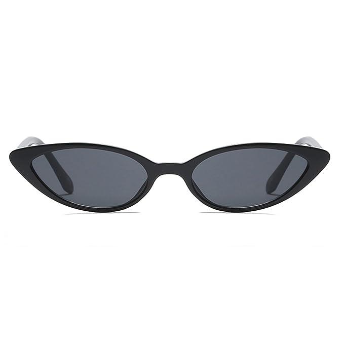 Amazon.com: Mini Retro ojo de gato anteojos de sol para ...