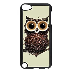 Custom Cartoon Owl Design Plastic Music Case for IPod Touch 5th