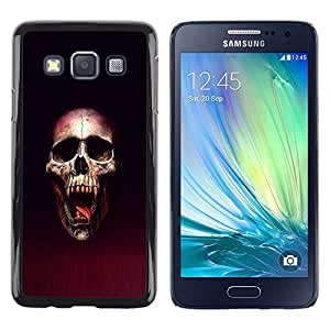 Stuss Case / Funda Carcasa protectora - Cráneo Blood Vampire - Samsung Galaxy A3