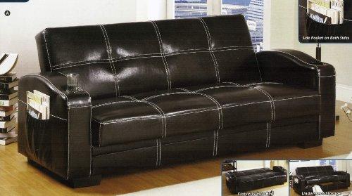 Hokku Designs Clifton Storage Sleeper Sofa Modern Contemporary