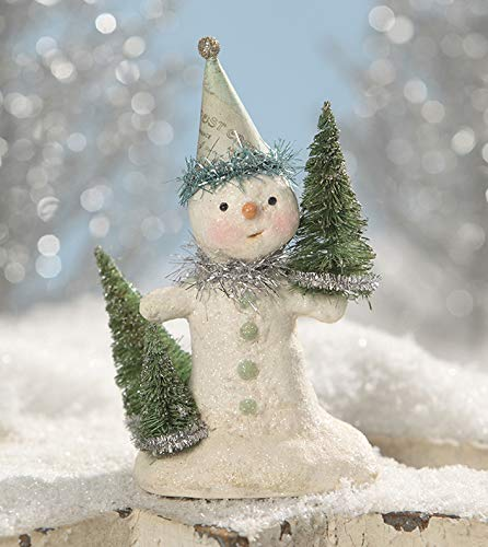 Bethany Lowe Designs Party in Green Snowman