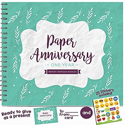 Amazon 1st Anniversary Gifts For Couples By Year One Year