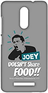Macmerise Friends Joey Doesnt Share Food Sublime Case For Xiaomi Redmi Note 3
