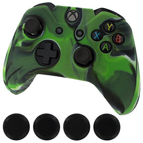 Generic Silicone Cover Controller stick Green