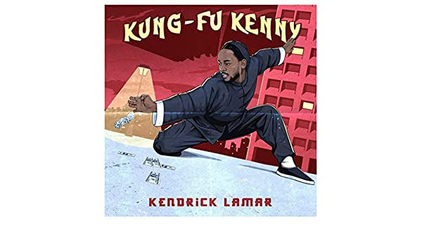 Kung Fu Kenny Kendrick Lamar Poster Wall Art Decor