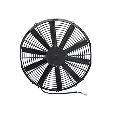 "Spal 30100401 16"" Straight Blade Pusher Fan: Automotive"