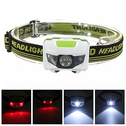 Mini Headlamp Headlight Flashlight Torch Lamp 1200 Lumen R3+2LED 4 Models Super Bright