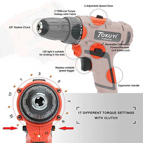 Buy high torque battery drill