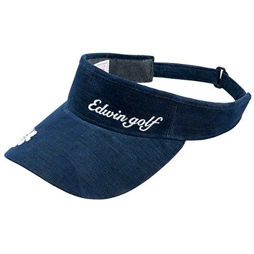 エドウイン EDWIN 帽子 カモ柄コーデュロイサンバイザー EDV1649LW レディス