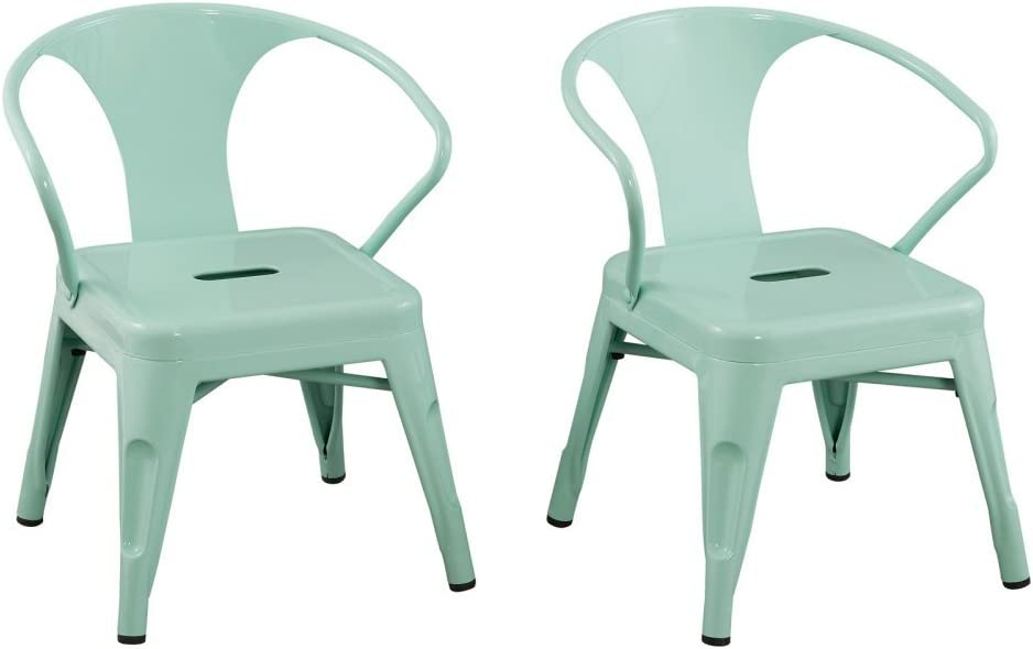 ACEssentials, 255001, Kids Industrial Metal Activity Chairs, 16.9