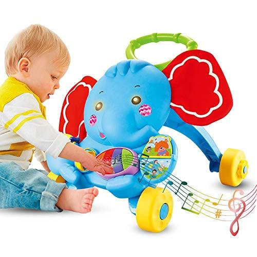 Amazon.com : Per Newly Baby Stroller Toys Learning Walker Trolley ...