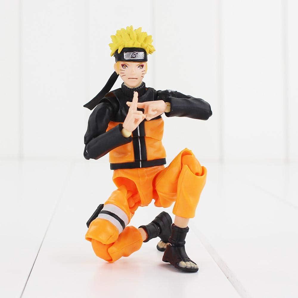 Figma Uzumaki Naruto Shippuden Moveable Uchiha Sasuke Hatake Kakashi  Namikaze Minato PVC Action Figures Model Toy: Amazon.de: Spielzeug
