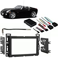 Fits Pontiac Solstice 06-09 Double DIN Stereo Harness Radio Install Dash Kit