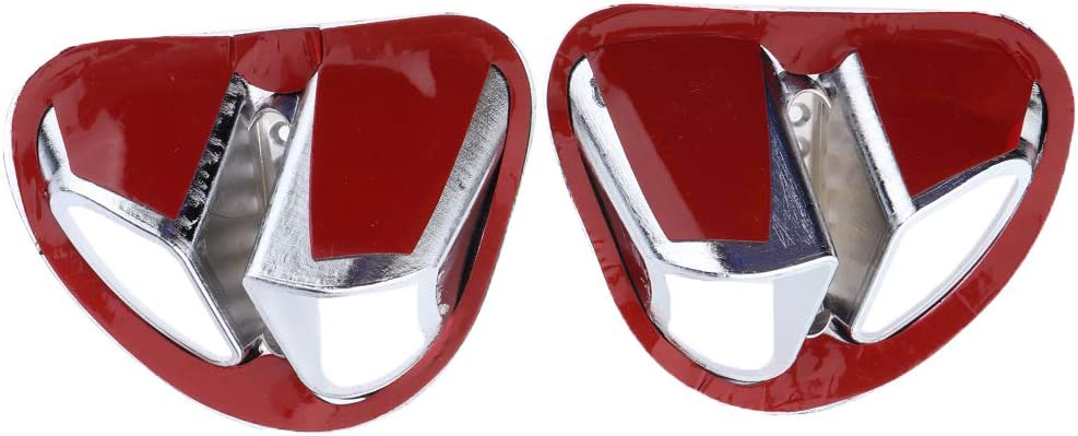 Motorcycle Accessories 2pcs Fairing Air Intake Grilles Chrome Decoration H HILABEE 2Pcs For Honda Goldwing GL1800 2001-2011