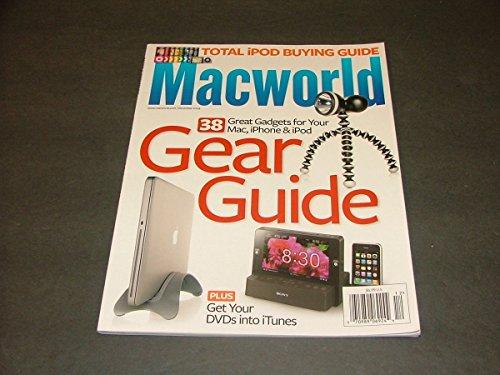 MacWorld Magazine December, 2009 38 Gadgets For Your Mac, iPhone iPod