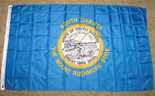 3x5 South Dakota Flag Polyester State Banner 3' x 5'