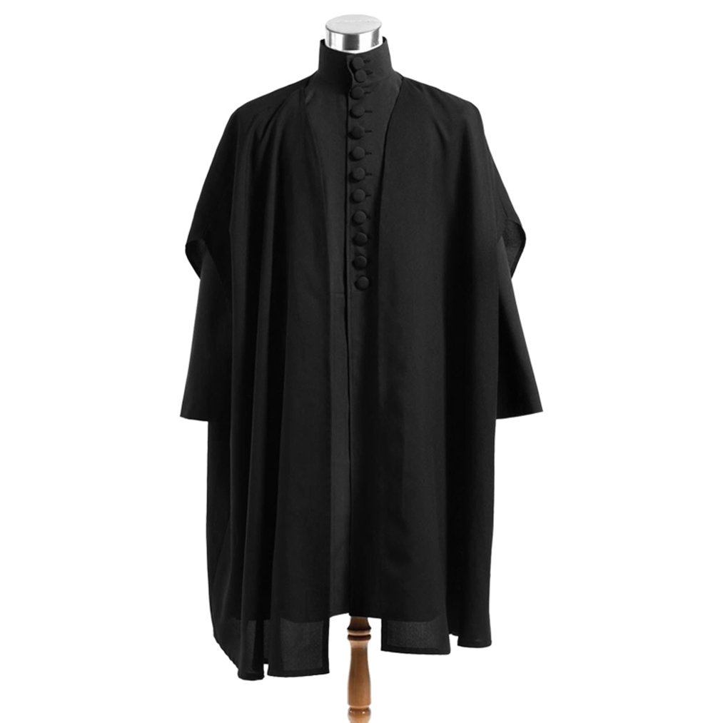 Costume Party Heart Men's Black Suits Cape Snape Cosplay Halloween Costumes