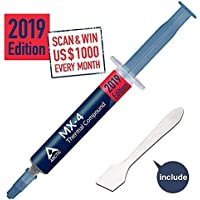 Arctic MX-4-4G 2019 Edition Thermal Compound Paste for All Coolers,Heat Sink Paste,Carbon Based High Durability, with Bonus Tool (1 Pack)