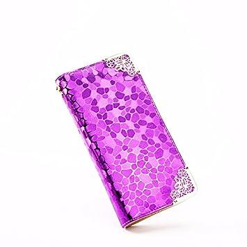 Corea colorido patrón piedra zipper bolso bolso de mano gran ...
