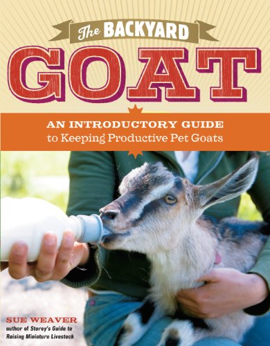 The Backyard Goat: An Introductory Guide to Keeping and Enjoying Pet Goats, from Feeding and Housing to Making Your Own Cheese by Sue Weaver