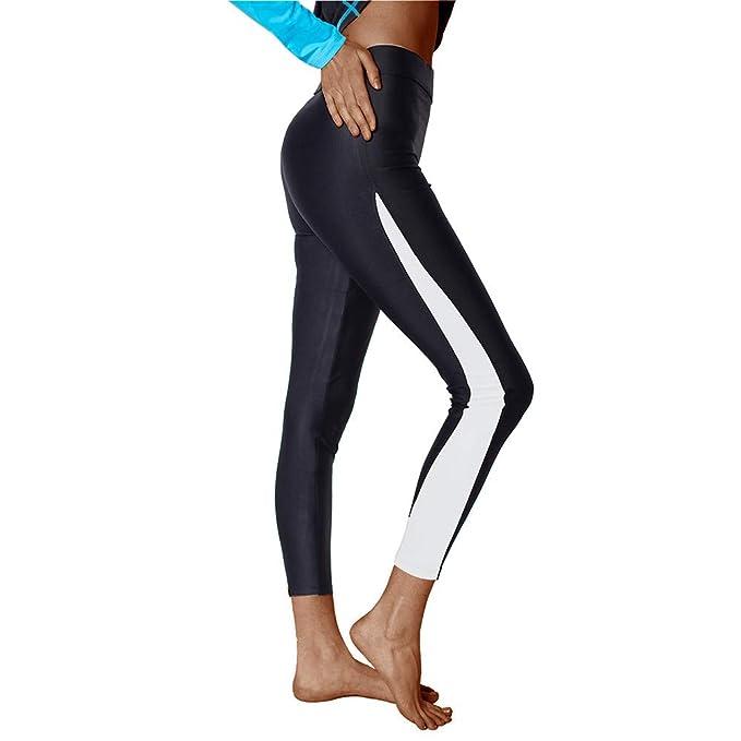 8408e5ae01 SWISSWELL Leggings Sportivi Donna, collant sportivi donna, Maglia Eleganti  Leggings Sport, Donna Capri Leggings Allenamento Opaco Yoga Fitness:  Amazon.it: ...