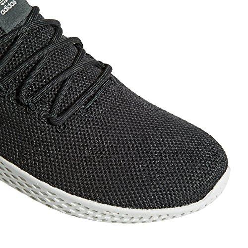 Adidas Tennis Maschile Pw Hu Scarpe Fitness, Grigio (carbonio / Carbonio / Blatiz 000)
