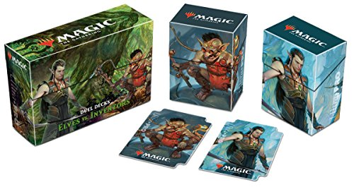 "Magic: The Gathering Duel Deck ""Elves vs Inventors"" Deck Box"
