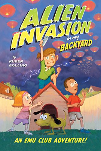 Alien Invasion in My Backyard: An EMU Club Adventure (AMP! Comics for Kids)
