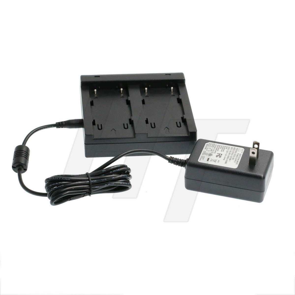 BC-30D 54344 Battery Dual Charger Power Adapter for Trimble GPS 5700,5800,R7,R8 GNSS Series, Topcon BT-62Q BT-65Q BT-66Q