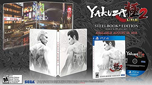 Yakuza Kiwami 2: SteelBook Edition - PlayStation 4 -  Sega of America