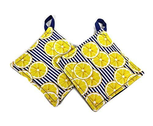 Lemon Hot Pad /& Pot Holder Set