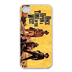 Personalized Durable Cases Once upon a time For iPhone 4,4S Cell Phone Case White Rmrge Protection Cover