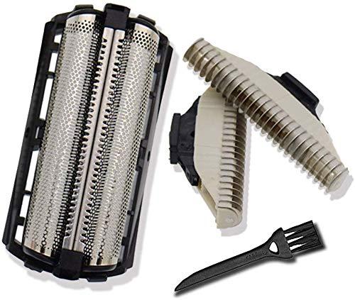 QC5550 Cabezales de Afeitado para Afeitadora Philips QC5580 Cuchillas Rotativas Poweka Unidad de Lámina & Cortador para Accesorios Afeitadora Hombres con Cepillo de Afeitar: Amazon.es: Salud y cuidado personal