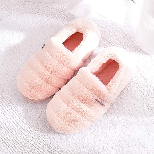 per uomo invernali imbottitura felpato in donna con cotone D casa e spessa antiscivolo cotone YMFIE calde la Pantofole per scarpe in zSwx58B