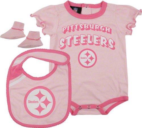 Amazon.com  Reebok Pittsburgh Steelers Infant Creeper c1edf63af
