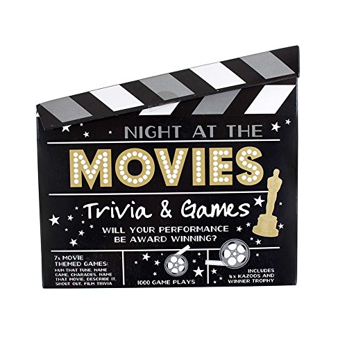 Night at the Movies Trivia & Games (Movie Trivia Game)