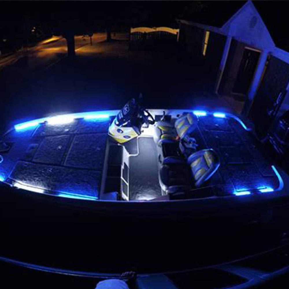 Lumi/ères de navigation men/ées arc marin de bateau de Houkiper Lumi/ères de plate-forme men/ées de pont de lumi/ères de navigation La lumi/ère de bateau de courtoisie allume la lumi/ère IP67 imperm/éable