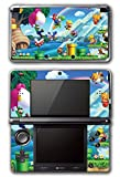 New Super Mario Bros 2 3D Land World Luigi Goomba Gold Bowser Princess Video Game Vinyl Decal Skin Sticker Cover for Original Nintendo 3DS System