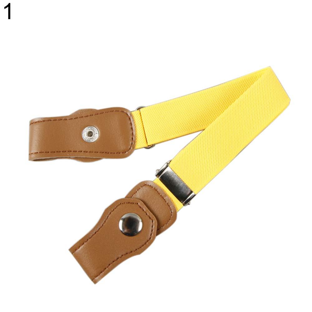 shengyuze Children Kids Buckle Free Adjustable Elastic Waist Belt for Men Waistband for Men for Boys Girls