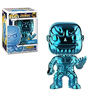 Avengers Funko POP Marvel: Infinity War – Thanos – Blue Chrome – Walmart Exclusive
