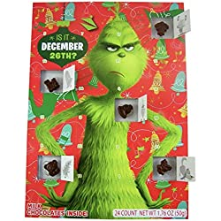 The Grinch Advent Calendar and Chocolate Stocking